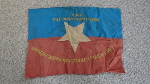VIETNAM WAR NORTH VIETNAMESE ARMY VICTORY VUNG TAU 1968 BATTLE FLAG   BX U