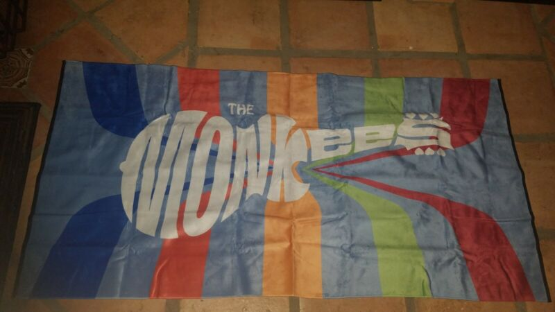 Monkees Mike Nesmith Micky Dolenz Show 2019 Tour Souvenir Terry Town TOWEL 30x60