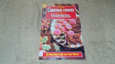 BEST EVER CHRISTMAS COOKIES COUNTRY AMERICA MAGAZINE COOKBOOK FREE USA