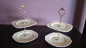 Two tiered cake stand Lalor Park Blacktown Area Preview