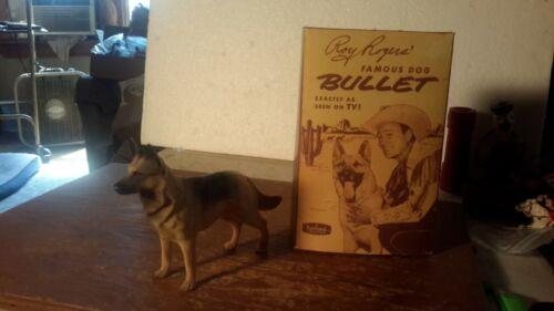 "Hartland ROY ROGERSs  ""BULLET""  w / Box  Figures Models Plastic"