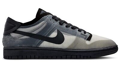 SHIPPED Nike Dunk Low Comme Des Garcons Black Clear SIZE 10.5 W | 9 Mens CDG DSM