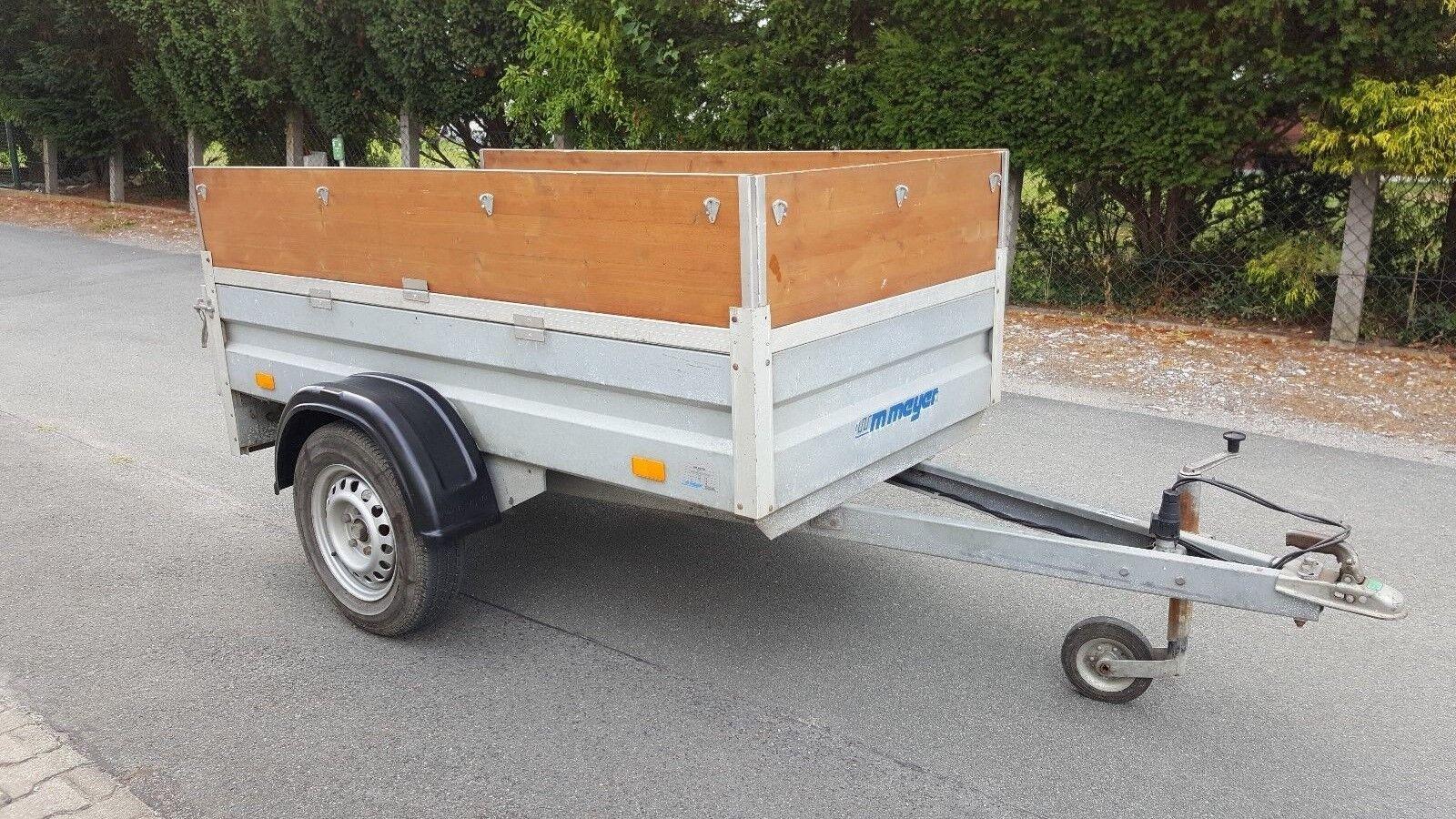 Pkw Anhänger, WM Meyer. 750 kg, Tüv 2019,