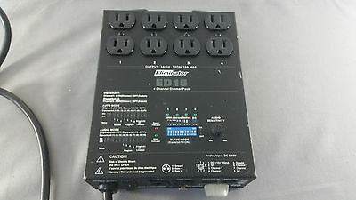 Eliminator Lighting ED-15 Dmx Controller Dimmer Pack 4 Channel