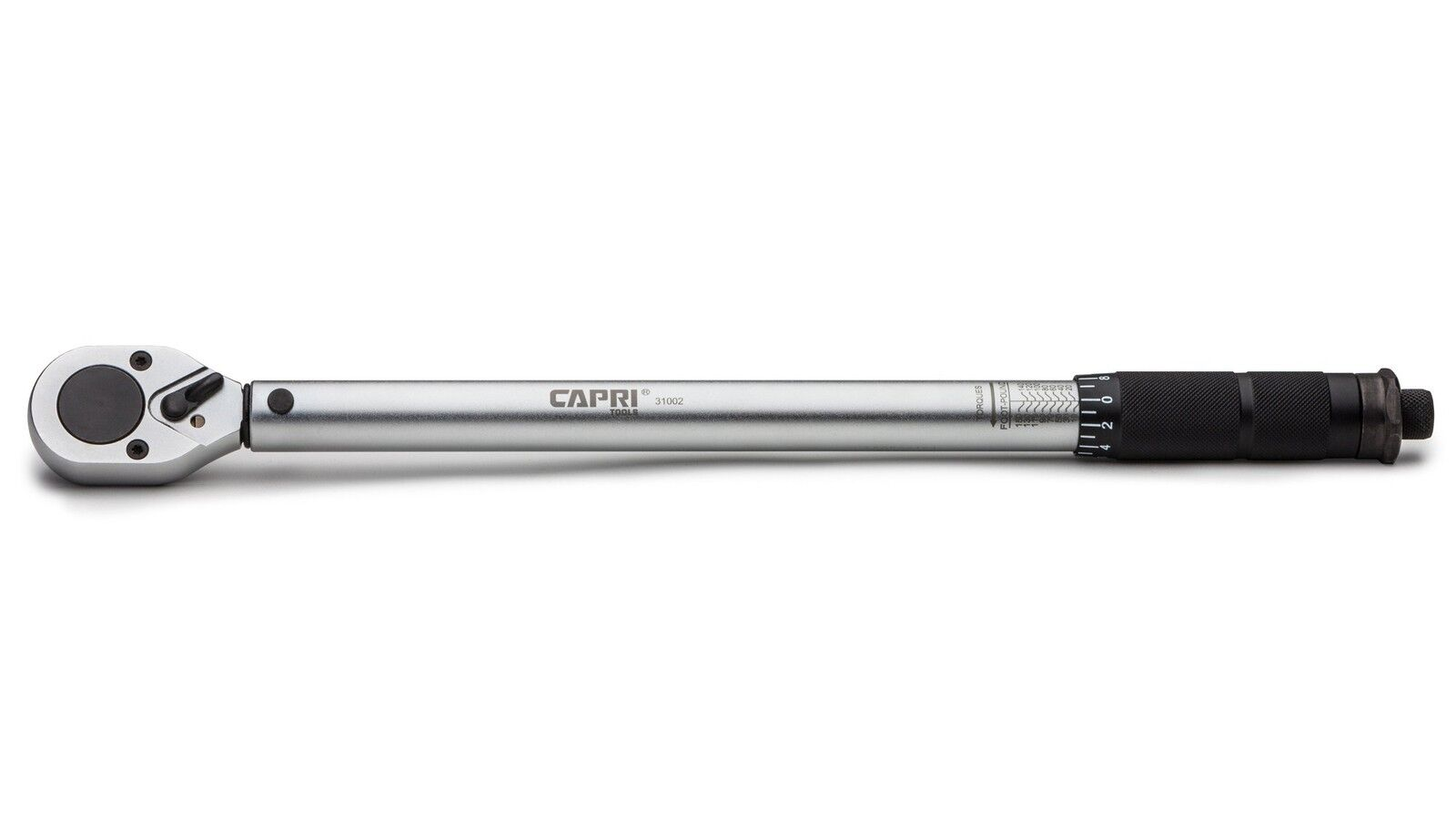Capri Tools 31002 10 to 150-Foot Pound Torque Wrench, 1/2-In