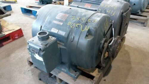100 HP General Electric Motor, 1800 RPM, 405US Frame, DP, 220/440 V, 1.15 S.F.