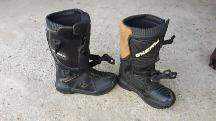 Motocross boots, O'Neal kids