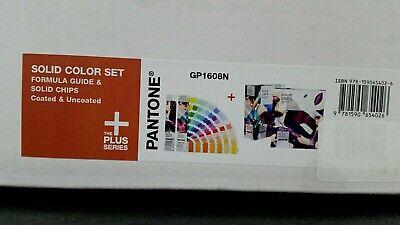 Pantone Solid Color Set Gp1608n - Formula Guides And Solid Chip Set