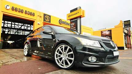 "(Holden Cruze) G.MAX 20"" Cosmo Wheel + Tyre Package"