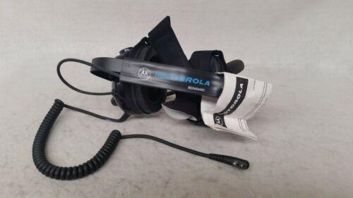 Motorola BDN6648C Heavy Duty Headset Noise Cancelling Microphone behind the Head