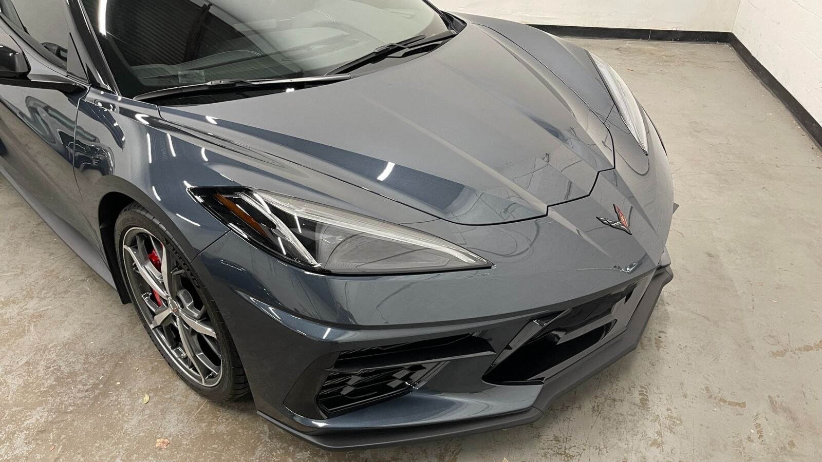 2020 Gray Chevrolet Corvette Stingray 1LT | C7 Corvette Photo 3