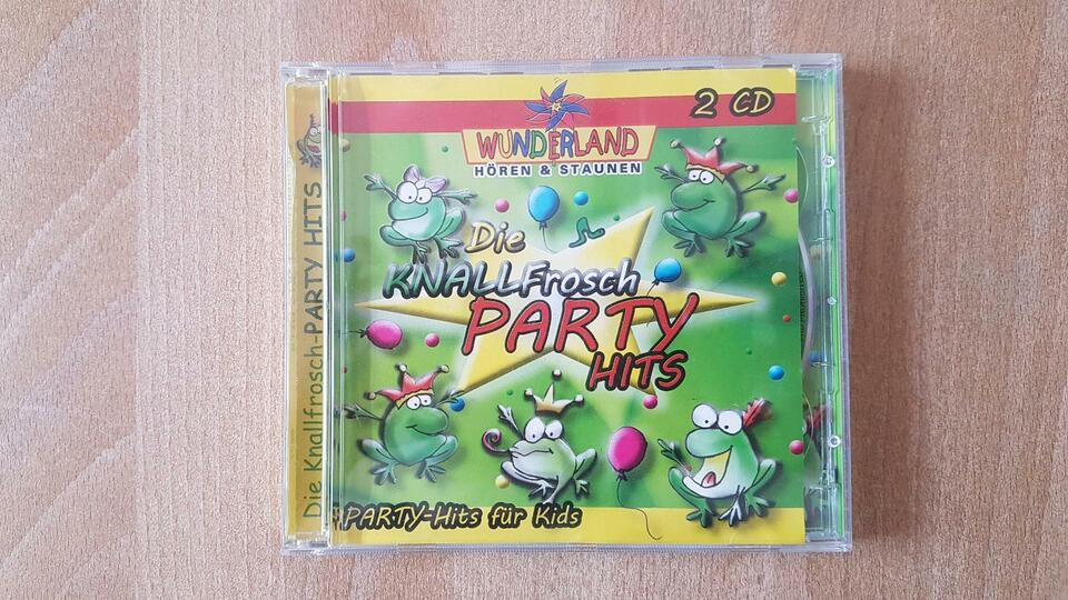 Kinder Party Hits * 4 CDs * Kinderlieder in Kist