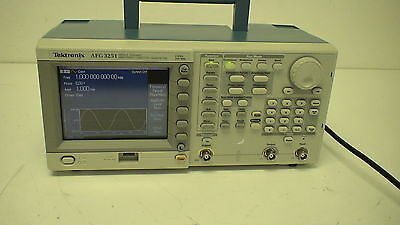 Tek Afg3251 1 Channel 240 Mhz Arbitrary Function Generator.