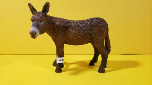 Schleich POITOU DONKEY ADULT Animal figure 13661 Rare!