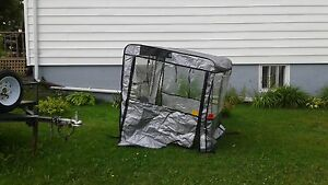 Plastic Cab for  Lawn Tractor with Snowblower att or  4 wheeler