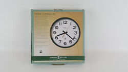 Howard Miller Accuwave II Wall Clock 625-205 - Modern & Round - Brand New