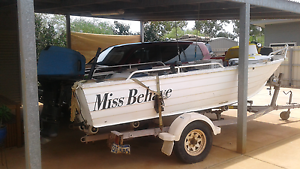 4.3 clarke boat with a 50hp mercury 2stroke South Hedland Port Hedland Area Preview
