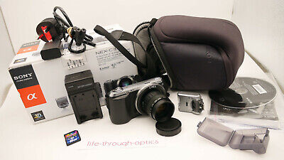 Sony Alpha NEX-C3 16.2 MP Digital Camera + 35mm F1.7 Lens + TRIPOD & EXTRAS