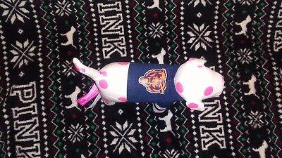 NFL Victoria secret pink dog vs chicago bears plush puppy football
