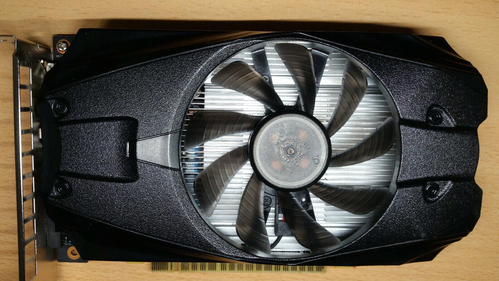 KFA2 GeForce GTX 1050 TI OC 4GB GDDR5 Grafikkarte (50IQH8DSN8OK) in OVP