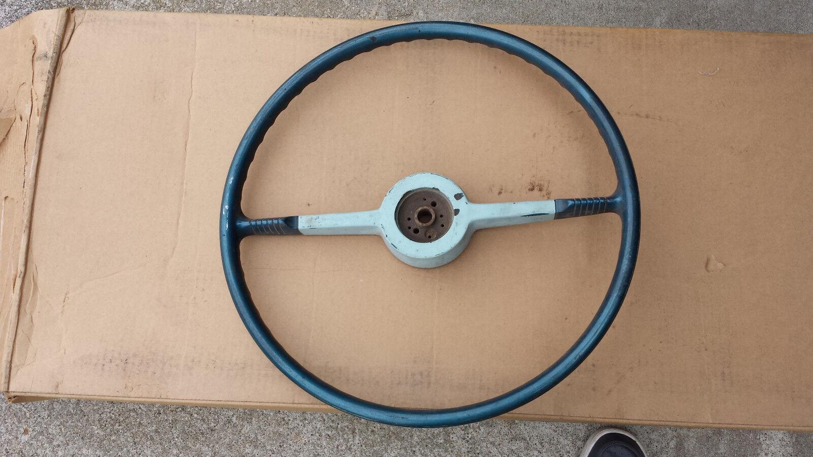 1954 53 Chevy belair steering wheel original oem
