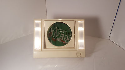 Ott Light Magnifier - Vintage Standup Lighted Mirror OTT Light Magnifying Square Circle Make Up