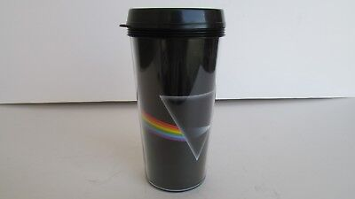 Pink Floyd Dark Side Of The Moon Lidded Travel Mug Tumbler