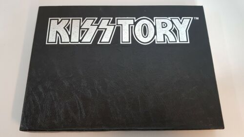 KISSTORY BOOK SIGNED GENE SIMMONS PAUL STANLEY OFFICIAL NUMBERED AUTOGRAPHED