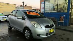2006 Toyota Yaris YR 5 Door Hatch ! Auto ! Fully Serviced & Inspected Granville Parramatta Area Preview