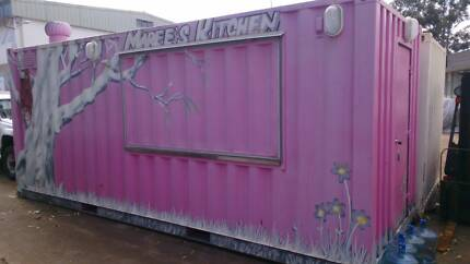 Food service self contained container, CAFE, CATERING, CARAVAN