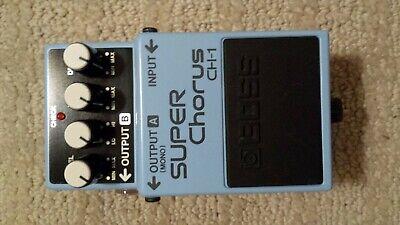 Boss CH-1 Chorus Guitar Effect Pedal