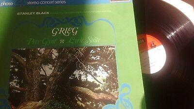 "Grieg Peer Gynt / Lyric Suite Stanley Black Conducting LSO 1969 DECCA 12"" LP PFS"