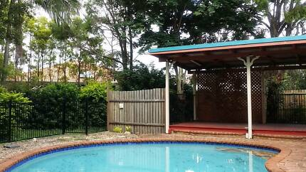 quiet  st 4 bedroom house  with a pool in banyo for sale