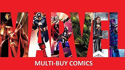 MARVEL COMICS: MULTI-BUY (Collection Bargain Pack Wholesale Job Lot)