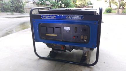Kipor KGE4000x 3.3kva Generator