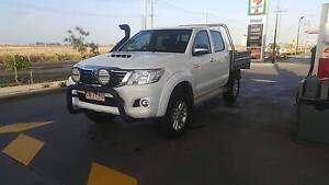 2014 Toyota Hilux SR5 Automatic 4x4 dual cab steel tray & canopy Altona Meadows Hobsons Bay Area Preview