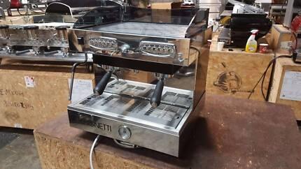 COFFEE MACHINE ESPRESSO 2 GROUP BRUGNETTI DELTA OFFICINE USED