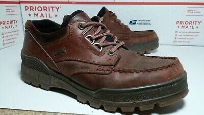 Gore-tex Oxford (Pre Owned Used Ecco Track Gore Tex Hiking Oxford Mens 42 Us Sz 8 - 8.5 Free Ship)