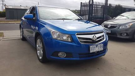 2010 Holden Cruze CD Sedan AUTO LOW KMS Williamstown North Hobsons Bay Area Preview