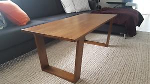 Tasmanian oak coffee table Cheltenham Kingston Area Preview
