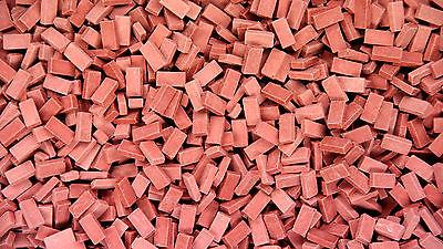 3.000 Keramik Ziegelsteine rot  1:87 von Juweela