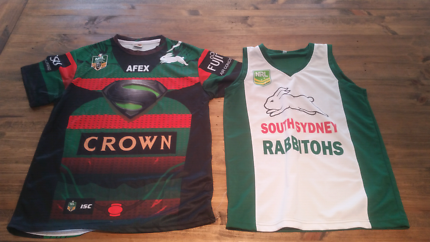 South sydney rabbitohs shirt and singlet
