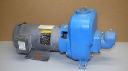 "GOULDS 30SPH40 Centrifugal Pump 1.5""  3HP , 3 Phase BALDOR 3656"