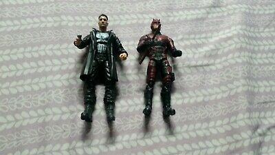 MARVEL LEGENDS DAREDEVIL and THE PUNISHER NETFLIX VERSIONS