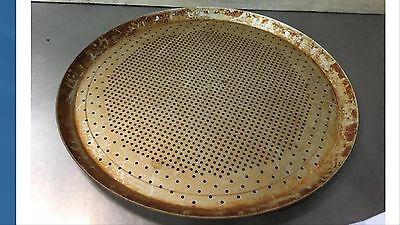 12- 15  Aluminum Pizza Baking Pan Perforated