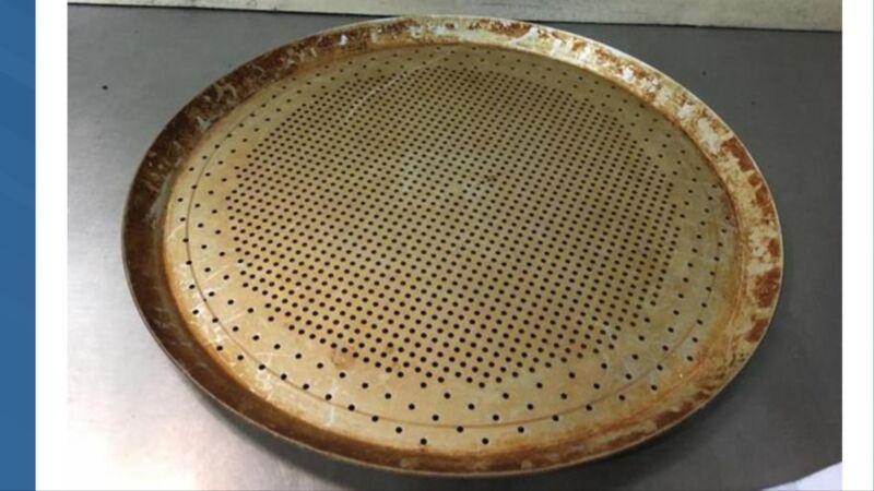 "12- 15""   aluminum Pizza baking pan Perforated"