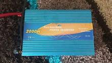 Power  Inverter pure sine wave 2000 watt Sun Valley Gladstone City Preview