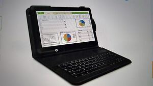 """RCA 10.1"""" Tablet 16GB Quad Core with Keyboard/Case"""
