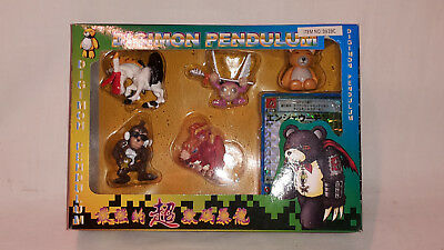 Digimon Pendulum 5 Figuren+Karte Original Bandai Japan 1999 Item 9939C