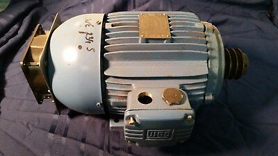 Cissell Parts B12510701 Motor Weg Ipso Unimac Drive Pulley Fan Washer Extractor